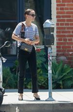 NATALIE PORTMAN Out and About in Los Angeles 08/12/2019