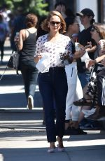 NATALIE PORTMAN Out for Breakfast in Los Angeles 08/24/2019