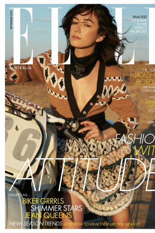 NATASHA LIU BORDIZZO in Elle Magazine, Australia September 2019