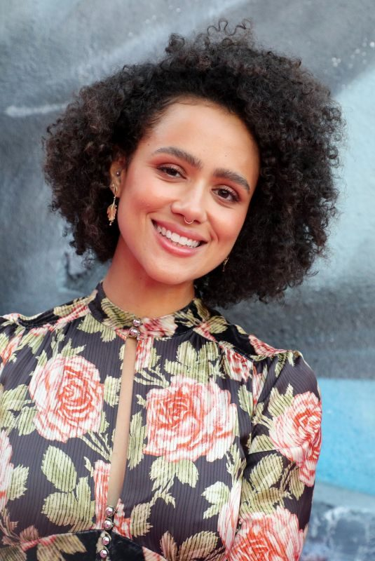 NATHALIE EMMANUEL at Pandora Jewelry Relaunch in Los Angeles 08/28/2019