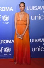 NATHALIE EMMANUEL at Unicef Summer Gala Presented by Luisaviaroma in Porto Cervo 08/09/2019