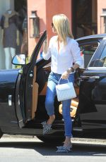 NICKY HILTON Arrives at Nine Zero One Salon in West Hollywood 08/05/2019