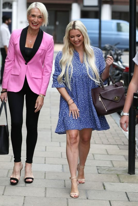 NICOLA MCLEAN and Dawn Neesom Out in London 08/16/2019
