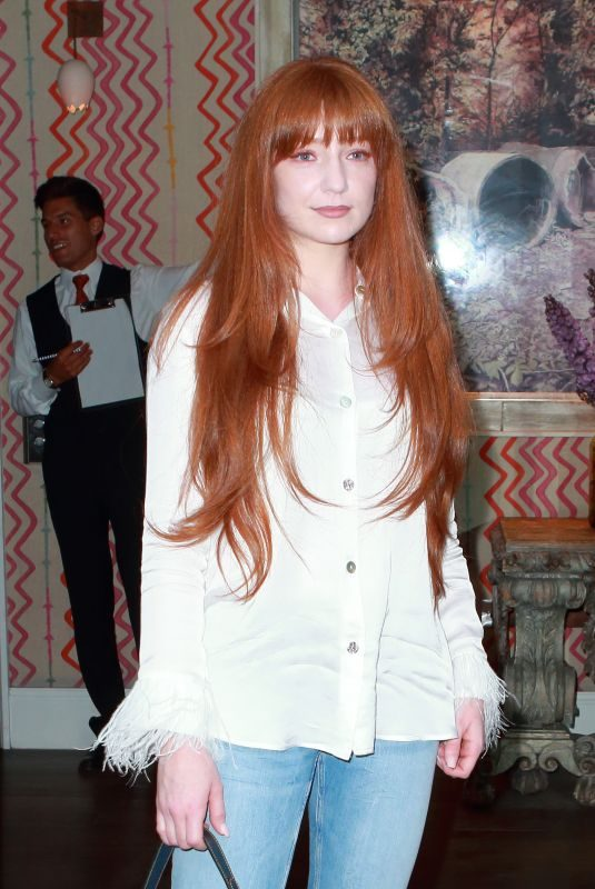 NICOLA ROBERTS at Facebook Watch Red Table Talk Screening With at Ham Yard Hotel in London 08/01/2019