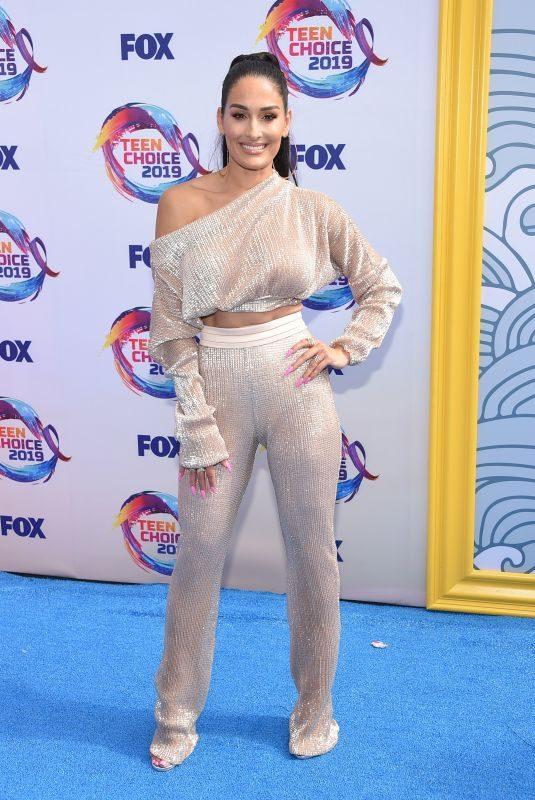 NIKKI BELLA at Teen Choice Awards 2019 in Hermosa Beach 08/11/2019