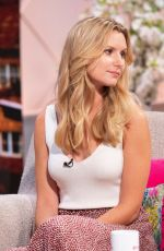 OLIVIA BROMLEY at Lorraine Show in London 08/14/2019