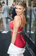 OLIVIA BUCKLAND at Bloomsbury Street Kitchen Restaurant Launch Party in London 08/08/2019