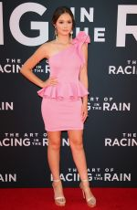 OLIVIA SANABIA at The Art of Racing in the Rain Premiere in Los Angeles 08/01/2019