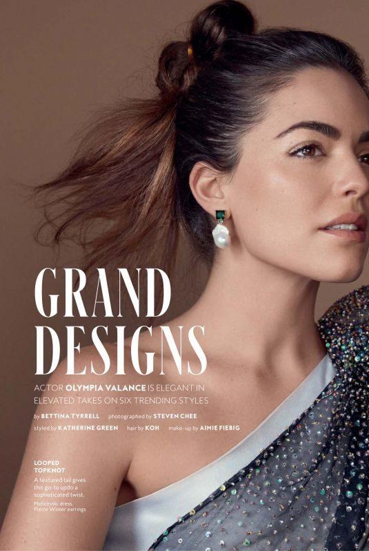 OLYMPIA VALANCE in Instyle Magazine, Australia September 2019