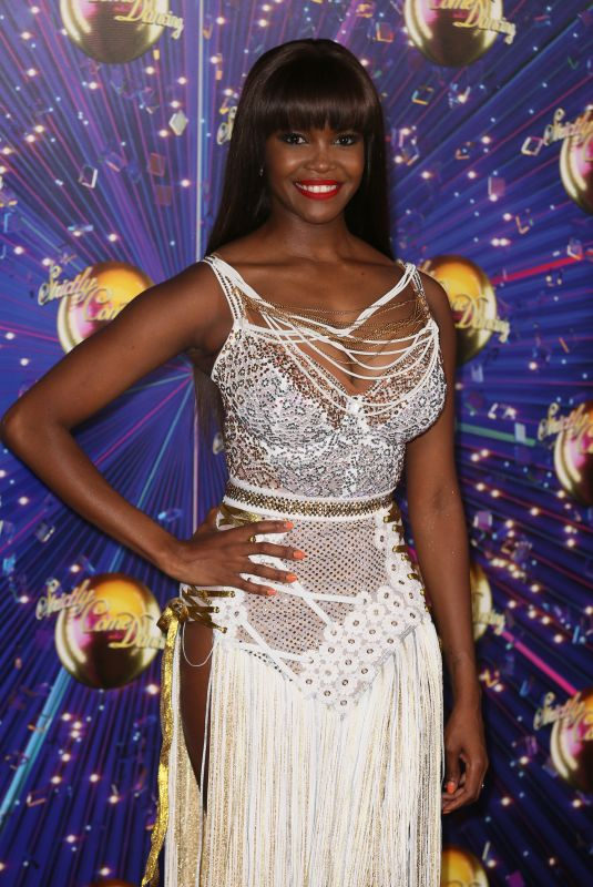 OTI MABUSE at Strictly Come Dancing Launch in London 08/26/2019