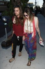 PARIS JACKSON Out and About in Hollywood 07/19/2019