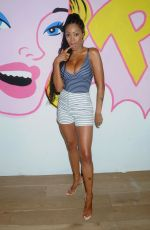 PRECIOUS MUIR at Selfie Factory Westfield Launch Party in London 07/31/2019