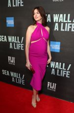 Pregnant ANNE HATHAWAY at Fiji Water at Sea Wall / A Life Opening Night on Broadway in New York 08/08/2019