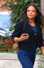 Pregnant CHRISTINA MILIAN Out in New York 08/26/2019
