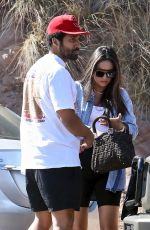 Pregnant SHAY MITCHELL Arrives at Sunday Afternoon BBQ in Malibu 08/25/2019