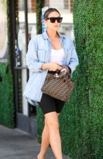 Pregnant SHAY MITCHELL Leaves a Nail Salon in Los Angeles 08/26/2019