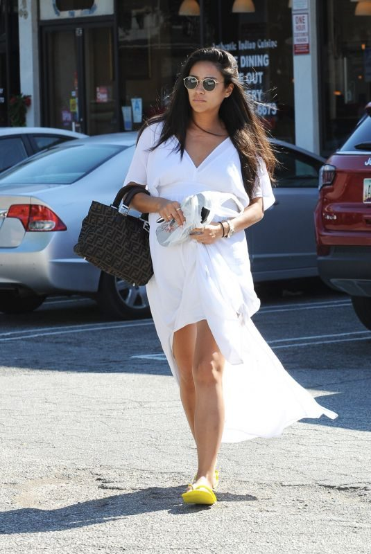 Pregnant SHAY MITCHELL Out in Hollywood 08/16/2019