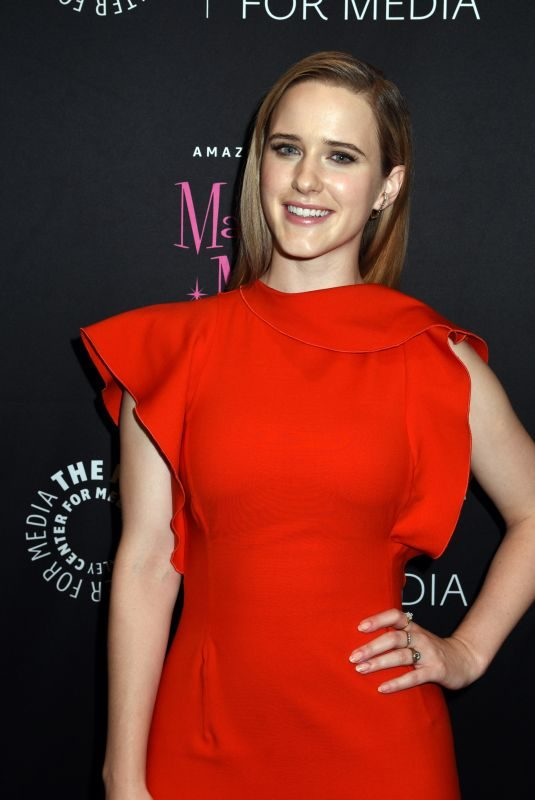 RACHEL BROSNAHAN at Making Maisel Marvelous Celebrate Opening of Immersive Exhibit in New York 08/10/2019