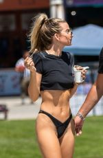 RACHEL MCCORD in Bikini Bottom Out in Venice Beach 08/21/2019