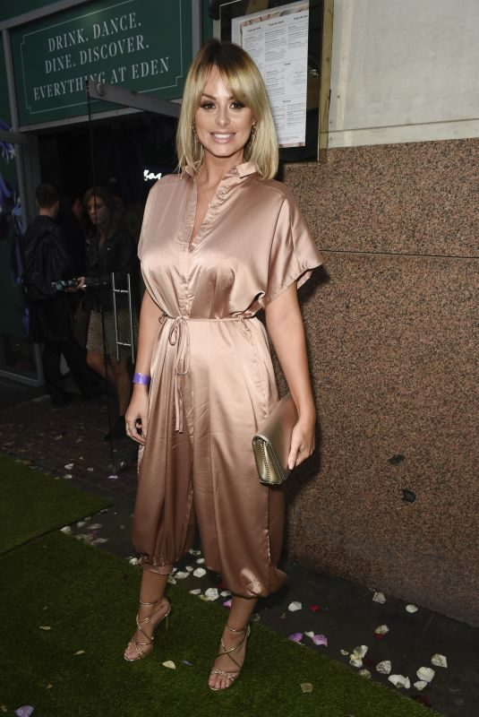 RHIAN SUDGEN Arrives at Eden Launch in Manchester 08/16/2019