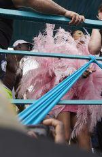 RIHANNA Arrives at Barbados Kadooment Day Parade 08/05/2019