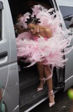 RIHANNA Arrives at Barbados Kadooment Day Parade 08/05/2019