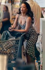 RIHANNA Out Shopping in Los Angeles 08/09/2019