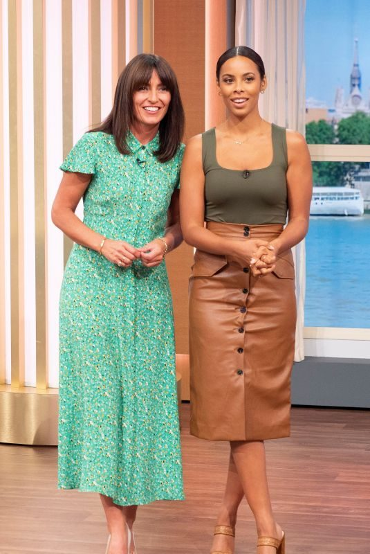 ROCHELLE HUMES and DAVINA MCCALL at This Morning Show in London 08/23/2019