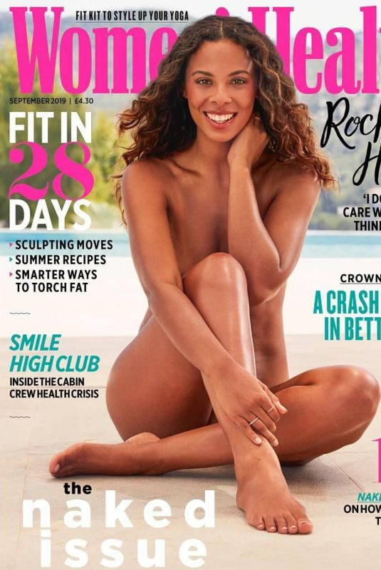 ROCHELLE HUMES in Woman's Health Magazine, Naked Issue September 2019