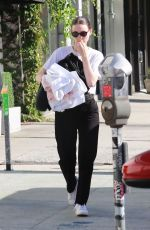 ROONEY MARA Out and About in Los Angeles 08/24/2019