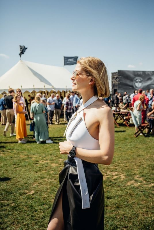 ROSAMUND PIKE at Silver Spitfire at Goodwood Start Celebration in Chichester 08/05/2019