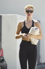 ROSIE HUNTINGTON-WHITELEY Leaves Pilates Class in West Hollywood 08/13/2019