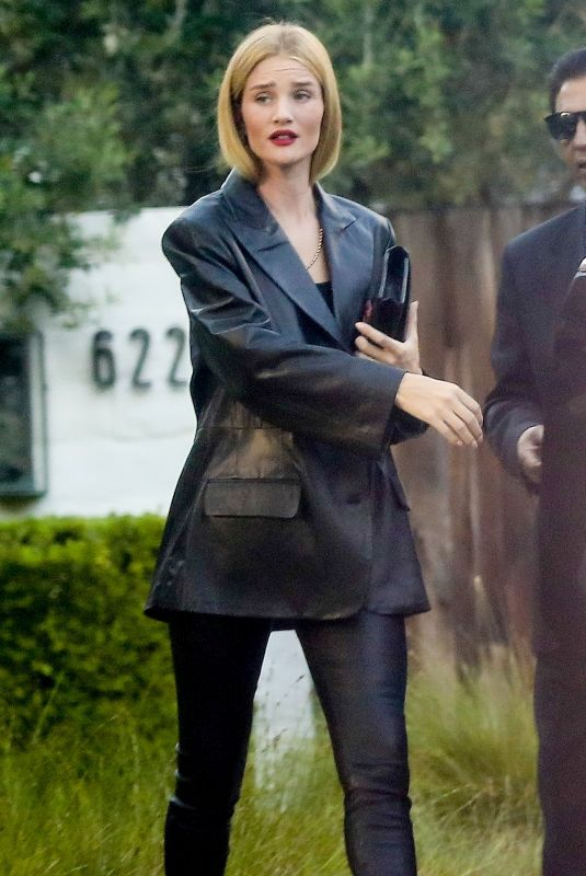 ROSIE HUNTINGTON-WHITELEY Out in Beverly Hills 08/02/2019