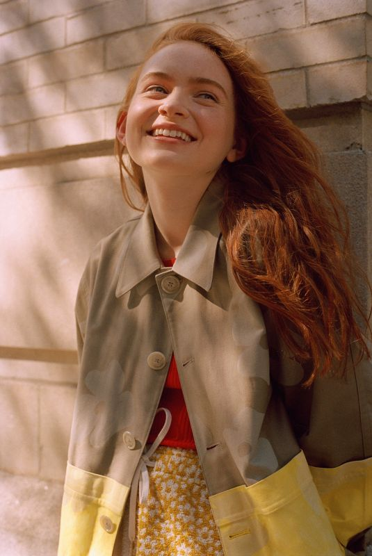 SADIE SINK for Teen Vogue Magazine, July 2019 Issue