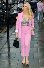 SAFFRON BARKER Out and About in London 08/09/2019