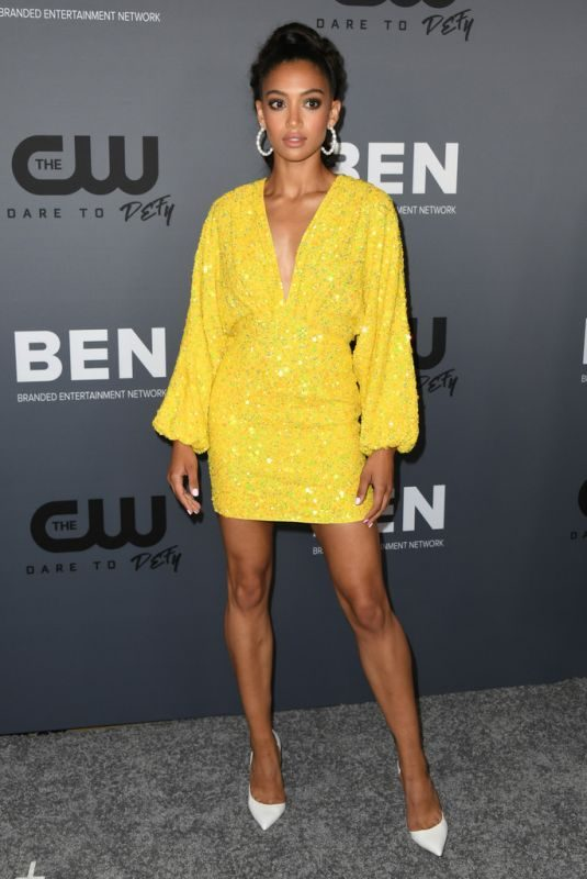 SAMANTHA LOGAN at CW Summer 2019 TCA Party in Beverly Hills 08/04/2019
