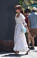 SARAH HYLAND Arrives at Private Event in Los Angeles 08/17/2019