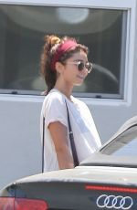 SARAH HYLAND at a Gym in Los Angeles 08/26/2019