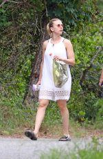 SCARLETT JOHANSON Out in The Hamptons 08/14/2019