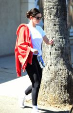 SELENA GOMEZ Leaves a Gym in Los Angeles 08/29/2019