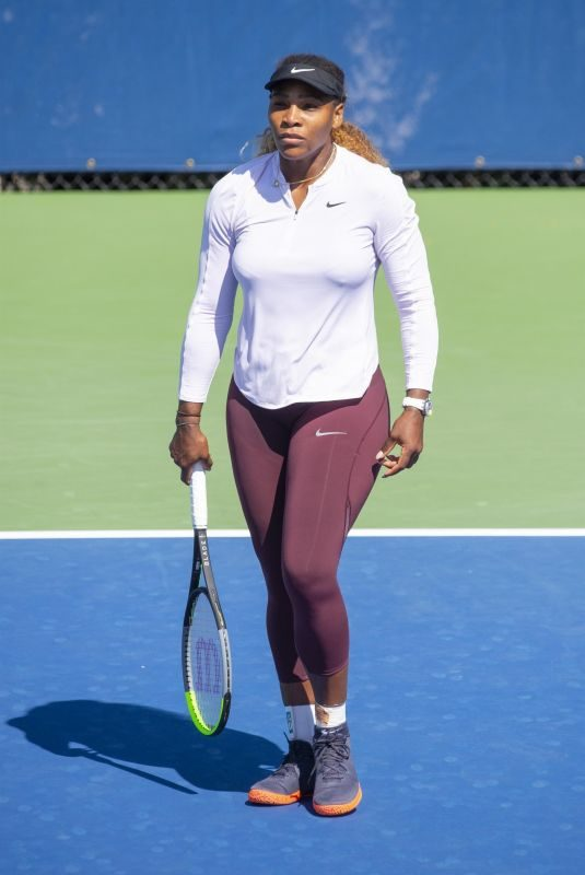 SERENA WILLIAMS at Arthur Ashe Kids' Day at Usta Billie Jean King National Tennis Center in New York 08/24/2019