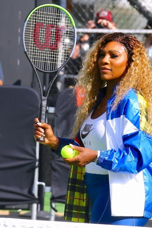 SERENA WILLIAMS at Nike Queens of the Future Event in New York 08/20/2019