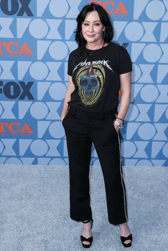 SHANNEN DOHERTY at Fox Summer TCA All-star Party in Beverly Hills 08/07/2019