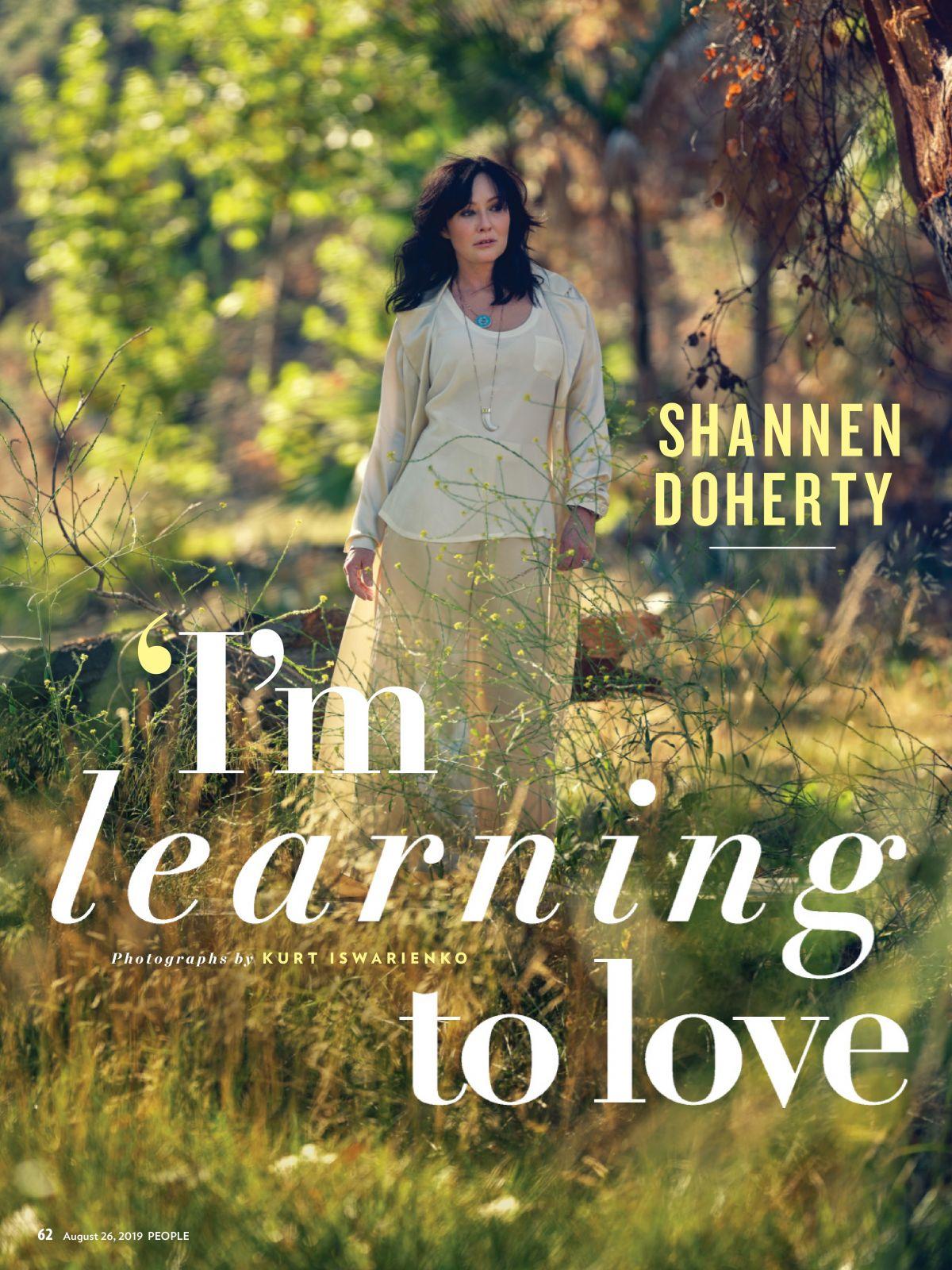 SHANNEN DOHERTY in People Magazine, August 2019 – HawtCelebs