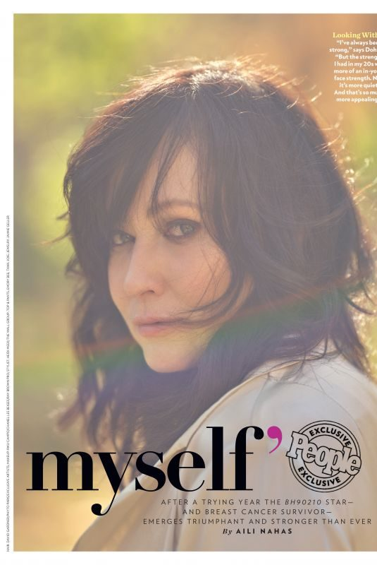 SHANNEN DOHERTY in People Magazine, August 2019