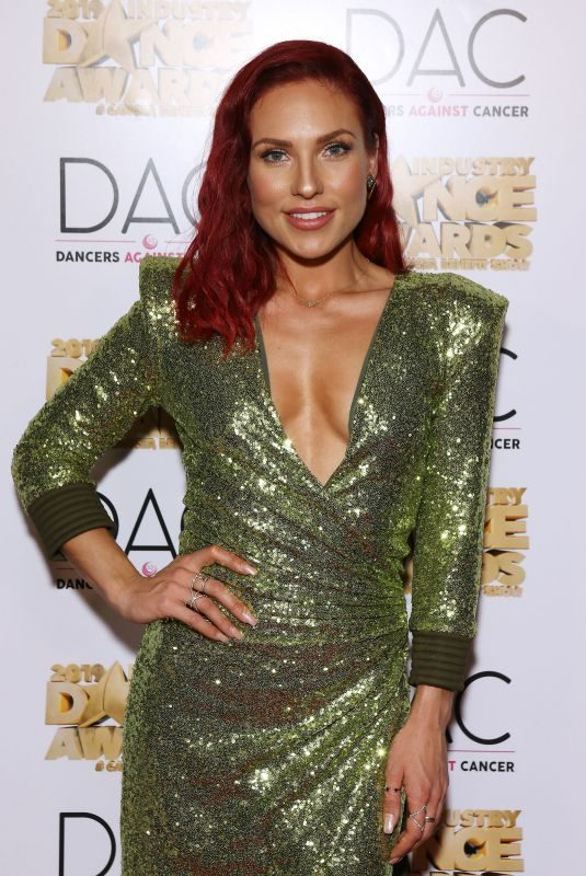 SHARNA BURGES at 2019 Industry Dance Awards in Los Angeles 08/14/2019