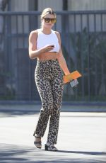 SOFIA RICHIE Arrives at a Meeting in Calabasas 08/20/2019