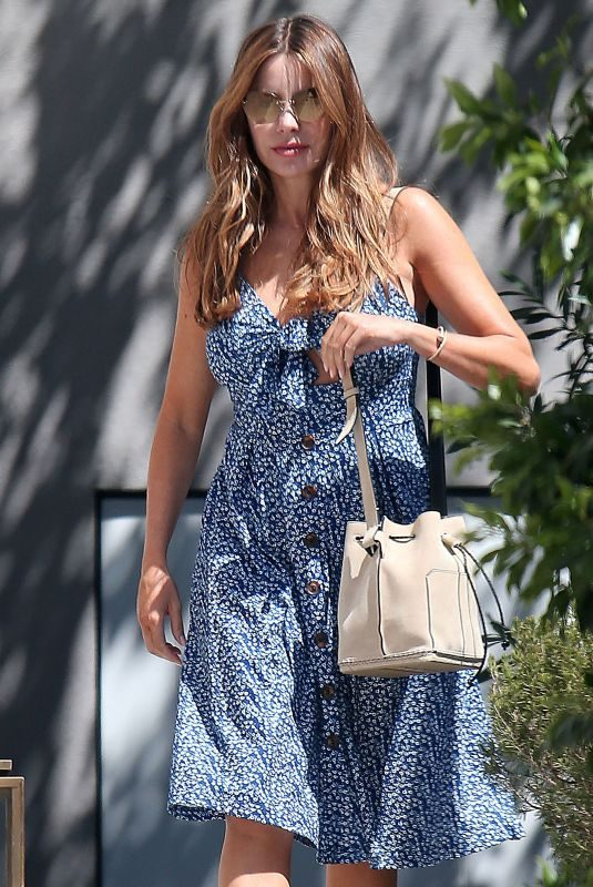 SOFIA VERGARA Out and About in Los ANgeles 08/24/2019