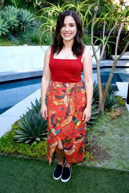 SOPHIA BUSH at Rothy's Conscious Cocktails Event in Los Angeles 08/20/2019