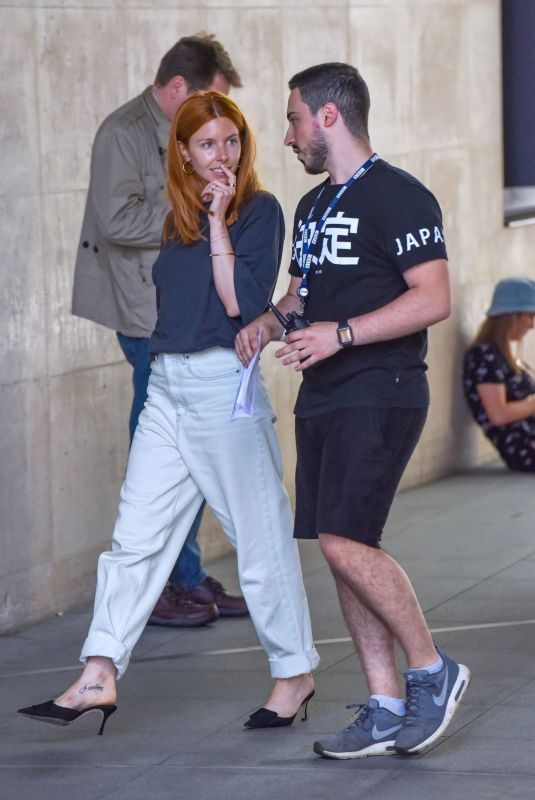 STACEY DOOLEY Arrives at BBC Studio in London 07/29/2019